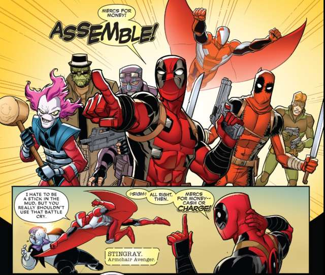 Deadpool Mercs for Money 10